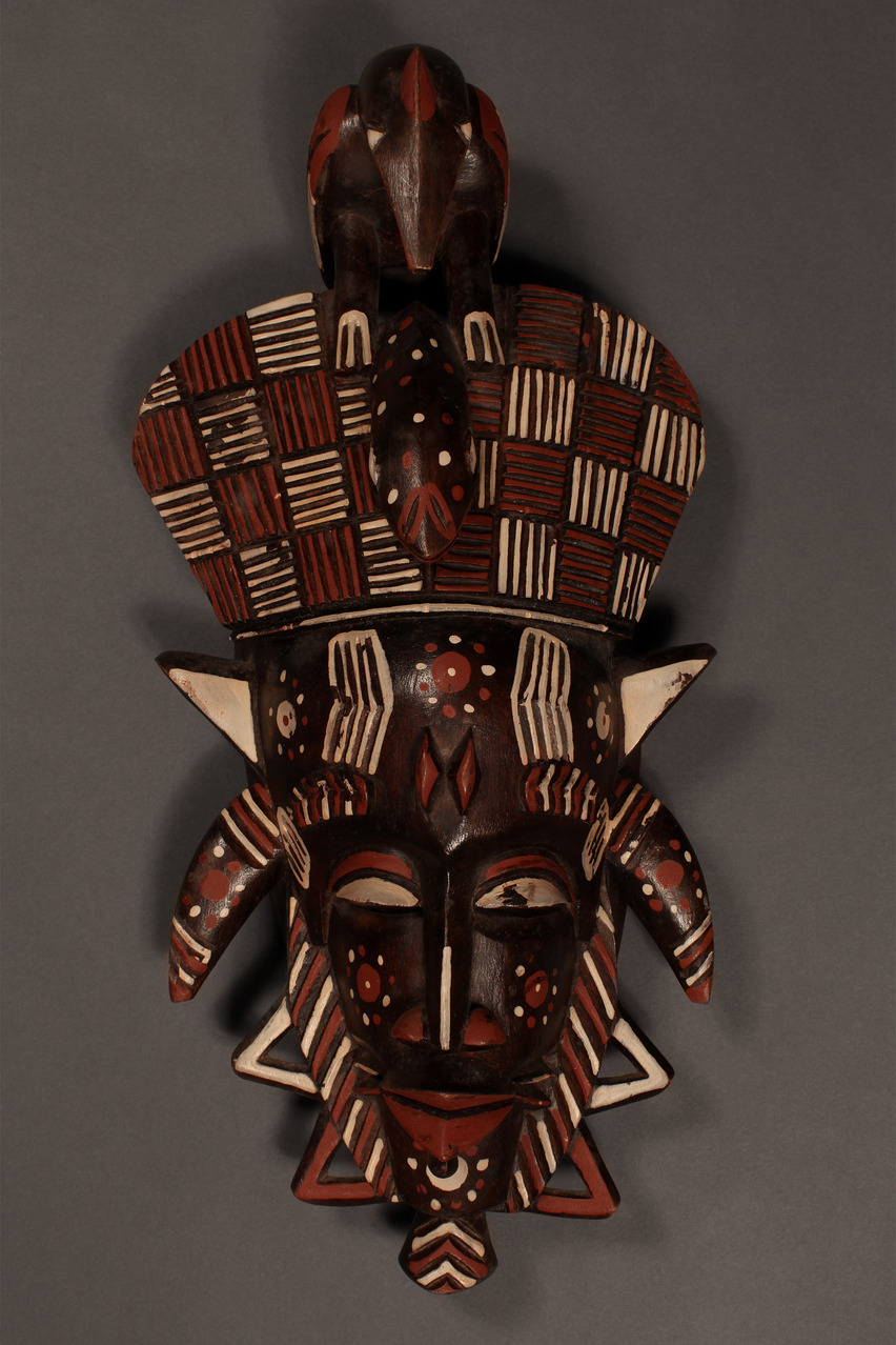 Decorative Kpeliyee Mask, Senufo Tribe, Ivory Coast